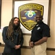 Brian Welch with Captain Scurry