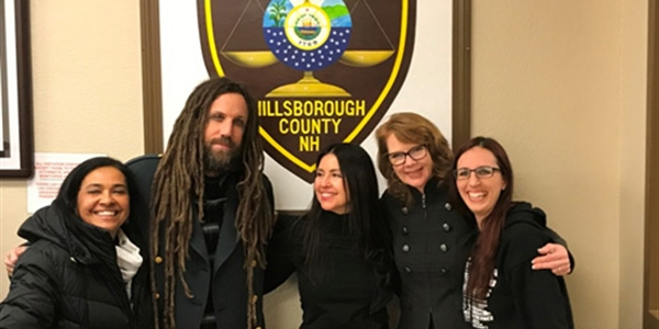 Brian Welch with HCDOC volunteers